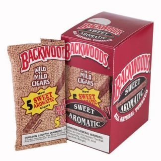 Backwoods Cigars Sweet Aromatic - 5 Pack-0