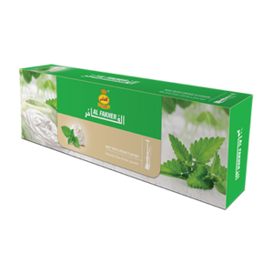 Al Fakher Mint with Cream Tobacco 50 G (10 Pack)-0