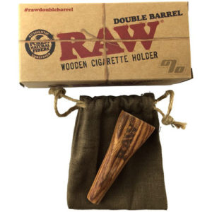 RAW Double Barrel Cigarette Holder-0