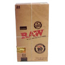 "RAW Classic 1 1/4"" Rolling Papers-0"