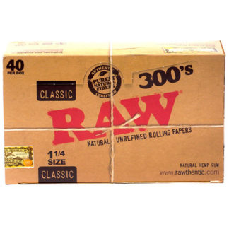 "RAW Classic 300's 1 1/4"" Rolling Papers-0"