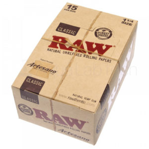 "RAW Classic Artesano 1 1/4"" Rolling Papers-0"