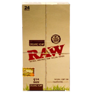 "RAW Organic 1 1/4"" Rolling Papers-0"