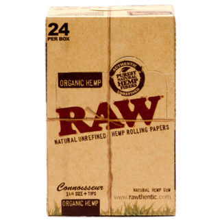 "RAW Organic Connoisseur 1 1/4"" Rolling Papers-0"
