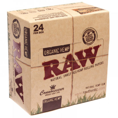 RAW Organic Connoisseur King Size Slim Rolling Papers-0