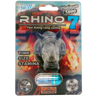 Rhino 7 Platinum 5000 Male Enhancement Pills-0