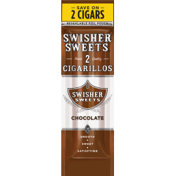 Swisher Sweets Cigarillos Chocolate-0