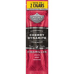 Swisher Sweets Cigarillos Cherry Dynamite-0